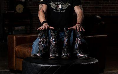 "Ryan Weaver ""Old Glory"" by Lane Boots Hit Nashville!"